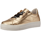 Fendi Kids Metallic Logo Slip-On Sneakers