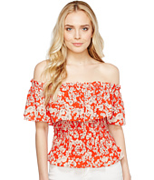 Rebecca Taylor - Off the Shoulder Cherry Blossom Top