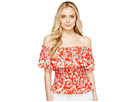 Off the Shoulder Cherry Blossom Top