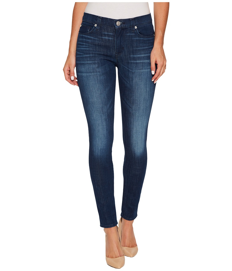 Hudson Nico Mid-Rise Super Skinny in Bright Eyes (Bright Eyes) Women