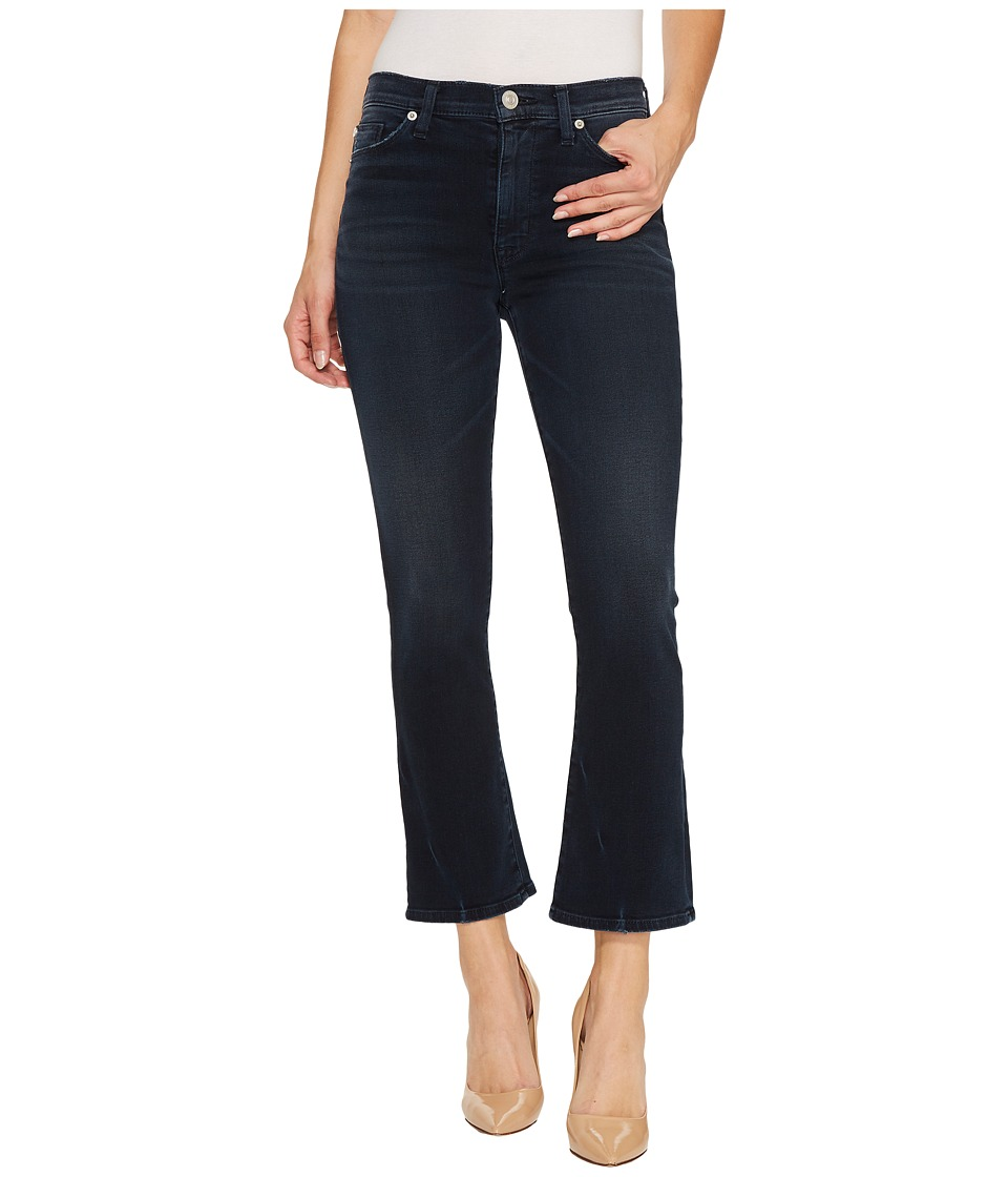Hudson - Brix High-Rise Crop in Night Ryder (Night Ryder) Womens Jeans