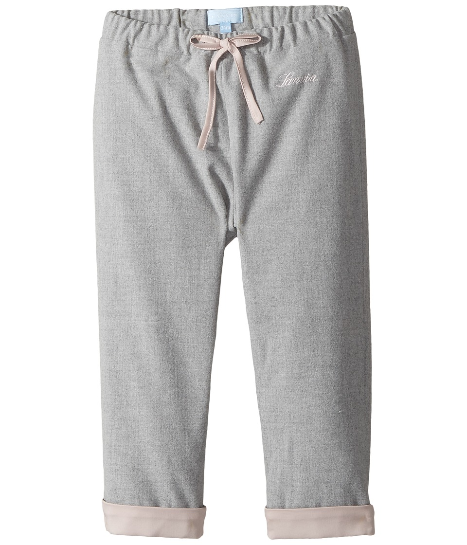 Lanvin Kids - Pants with Contrast Cuff Logo Detail