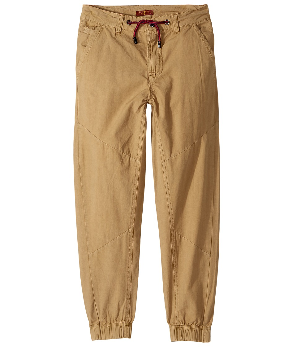 7 FOR ALL MANKIND Kids - Jogger Pants (Big Kids) (Khaki) ...