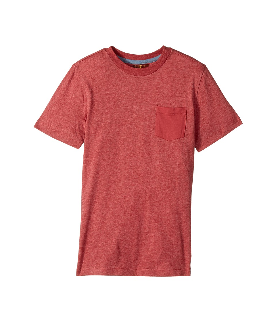 7 For All Mankind Kids - Short Sleeve T-Shirt