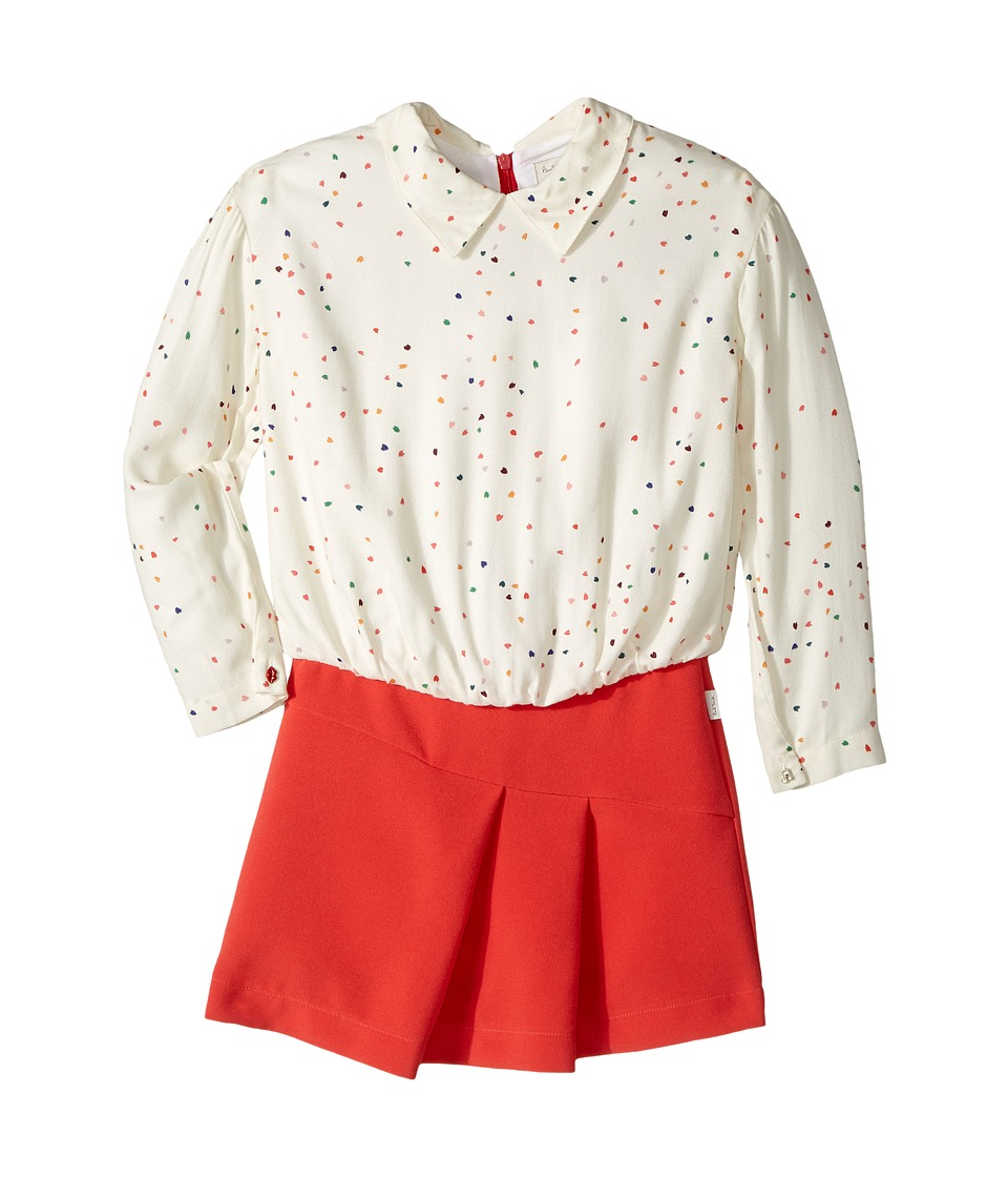 Paul Smith Junior - Hearts Blouse w/ Fitted Bottom Dress