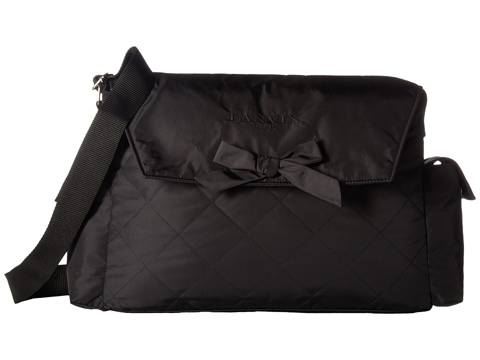 Lanvin Kids - Logo Diaper Bag with Bow On Front