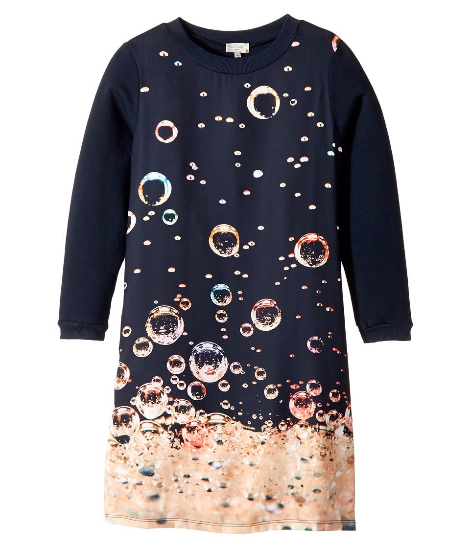Paul Smith Junior - Long Sleeves Dress w/ Bubbles Print