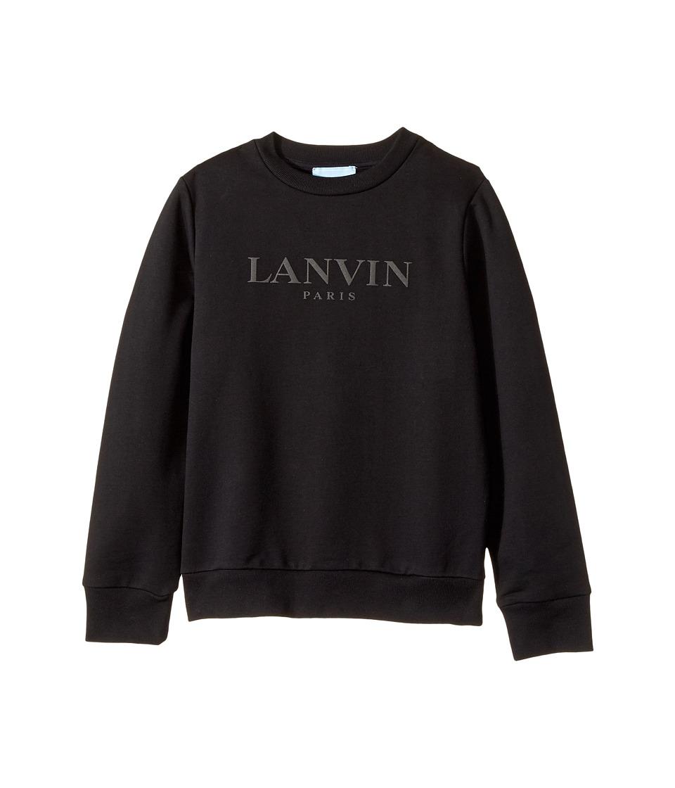 Lanvin Kids - Long Sleeve Logo Sweat Top