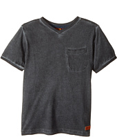 7 For All Mankind Kids - V-Neck Tee (Little Kids/Big Kids)