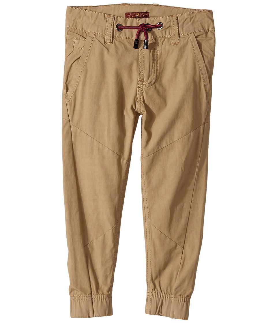 7 FOR ALL MANKIND Kids - Jogger Pants (Toddler) (Khaki) B...