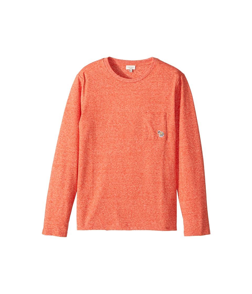 Paul Smith Junior - Long Sleeves Solid Tee Shirt
