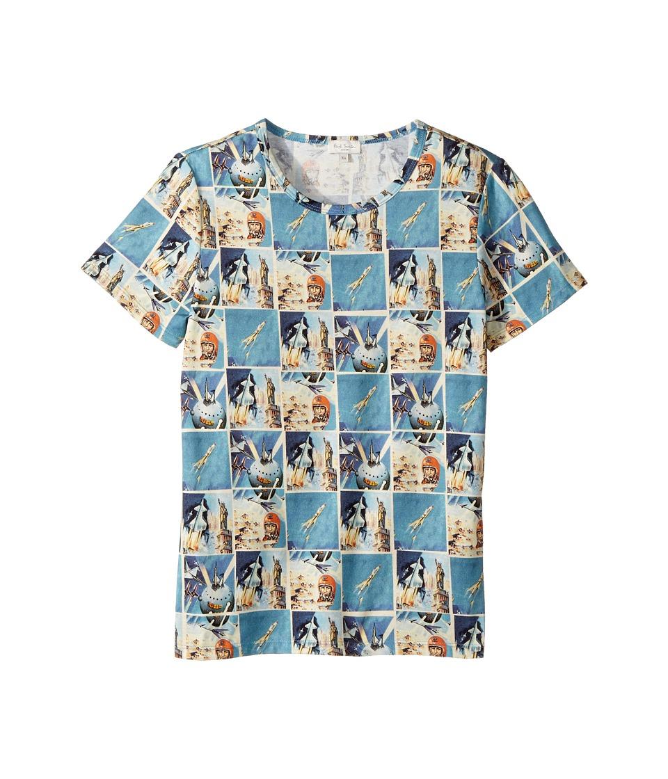 Paul Smith Junior - Short Sleeves Space Tee Shirt