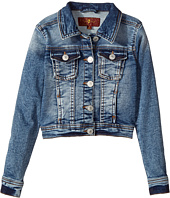 7 For All Mankind Kids - Denim Jacket (Little Kids)