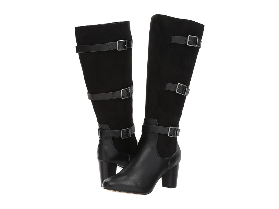 Bella-Vita Talina II Plus (Black Super Suede) Women's  Boots