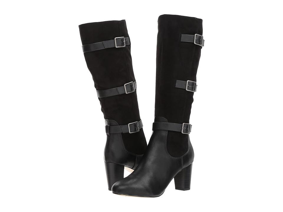 Bella-Vita Talina II (Black Super Suede) Women's  Boots
