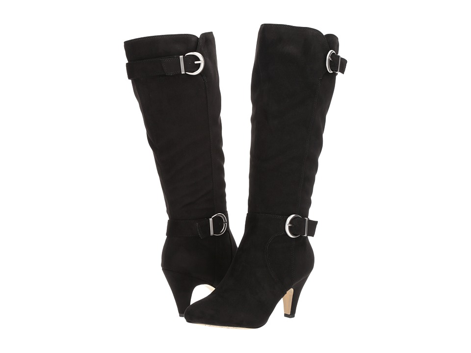 Bella-Vita Toni II Plus (Black Super Suede) Women's  Boots