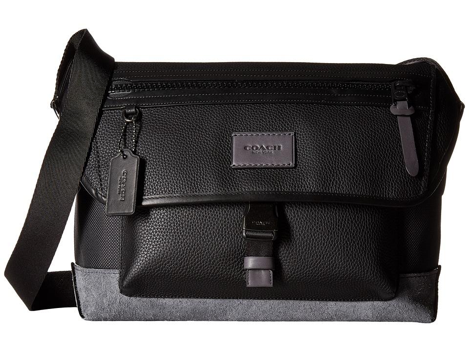 COACH - Manhattan Bike Bag (QB/Black/Graphite) Bags