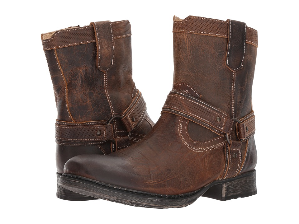 Roan - COLTON by Roan (Tan Greenland) Mens Pull-on Boots