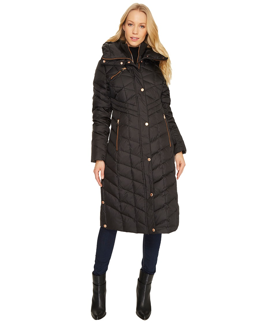 Marc New York by Andrew Marc Melina 42 Matte Down Coat (Black) Women