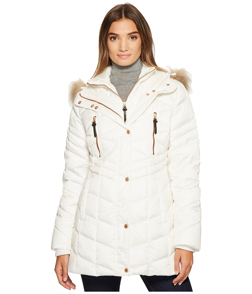 Marc New York by Andrew Marc Marley 30 Matte Down Coat (White) Women