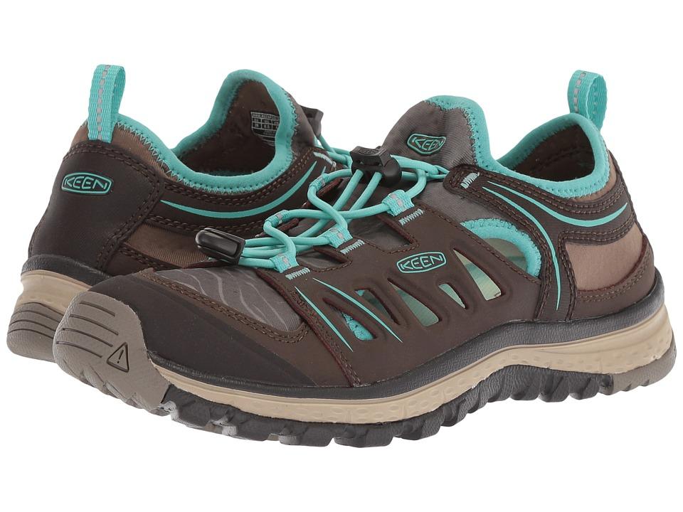 Keen Terradora Ethos (Mulch/Blue Turquoise) Women's Shoes