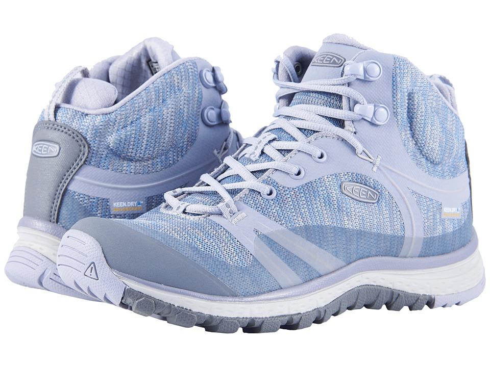 Keen Terradora Mid Waterproof (Dapple Grey/Vapor) Women's Shoes