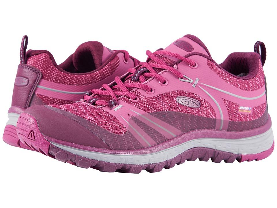 Keen Terradora Waterproof (Boysenberry/Grape Wine) Women's Shoes