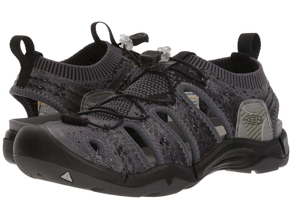 Keen - Evofit One (Heathered Black/Magnet) Womens Shoes