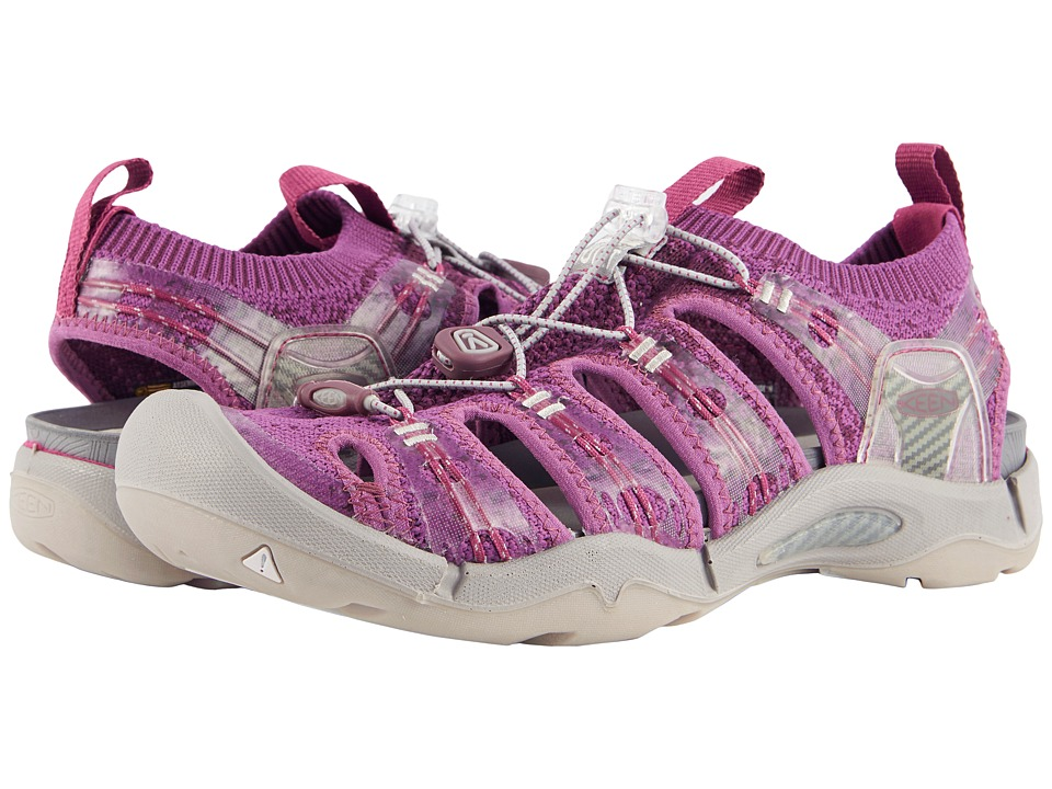 Keen Evofit One (Grape Kiss/Grape Wine) Women's Shoes
