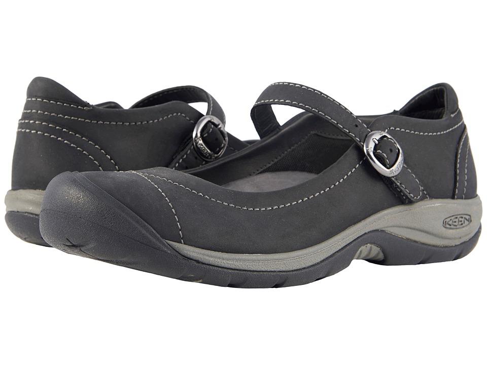 Keen Presidio II MJ (Black/Steel Grey) Women's Shoes