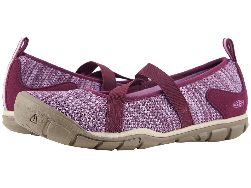 Keen Hush Knit MJ (Grape Wine/Lavender Herb) Women's Shoes