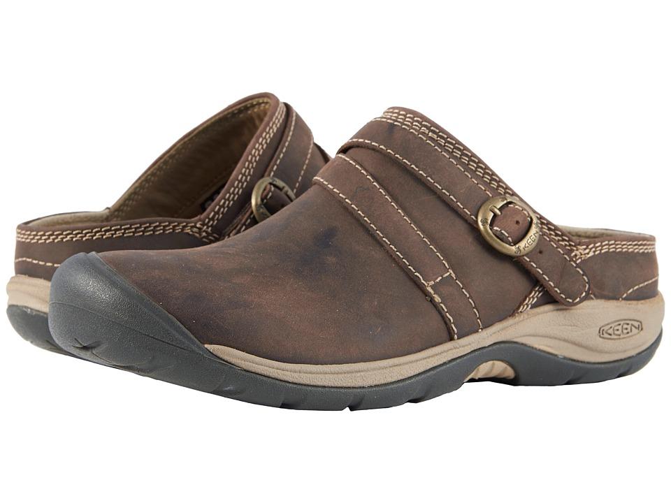 Keen Presidio II Mule (Dark Earth) Women's Shoes