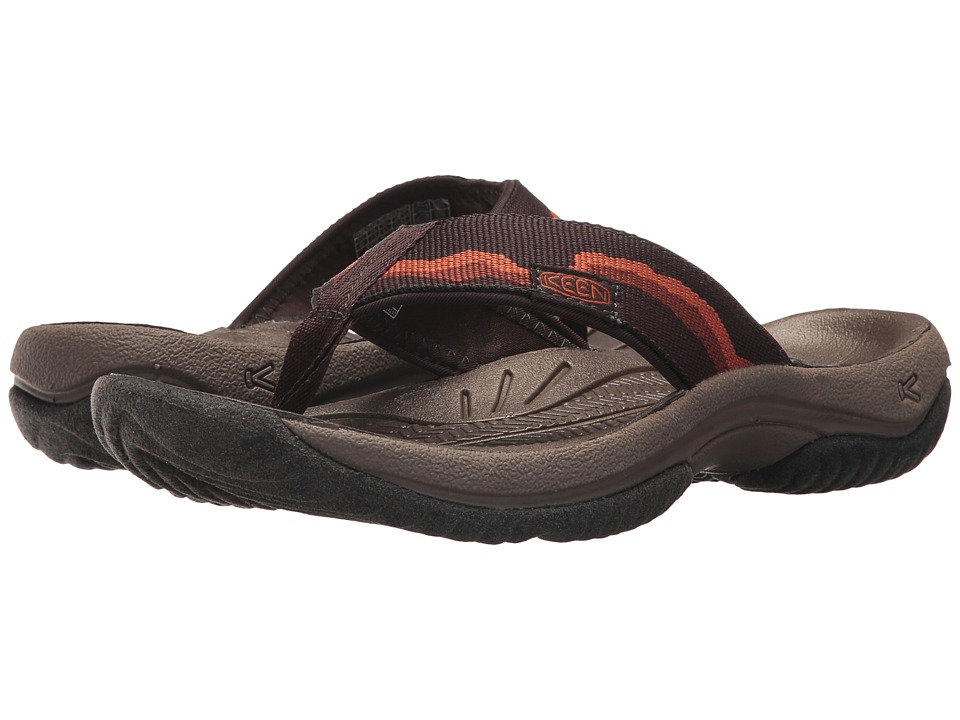 Keen - Kona Flip (Mulch/Espresso) Men's Sandals