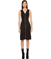 Sonia by Sonia Rykiel - Plain Crepe Zip Dress