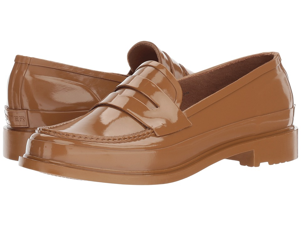 Hunter Original Penny Loafers (Pluto) Women's Shoes