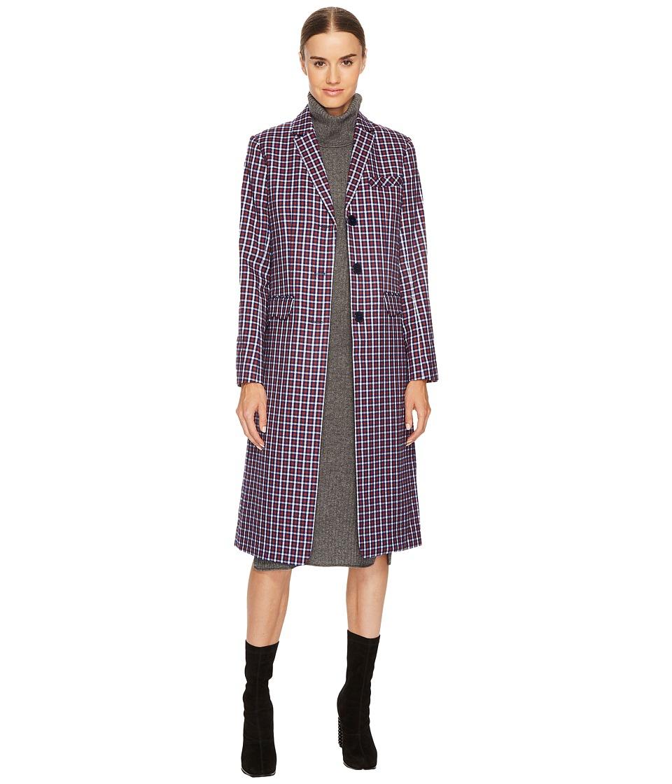 Sonia Rykiel - Small Check Tailoring Coat