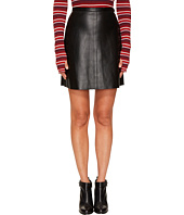 Sonia by Sonia Rykiel - Thin Lamb Leather Skirt