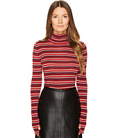 Sonia by Sonia Rykiel - Striped Wool Turtleneck Sweater
