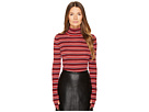 Sonia Rykiel Striped Wool Turtleneck Sweater