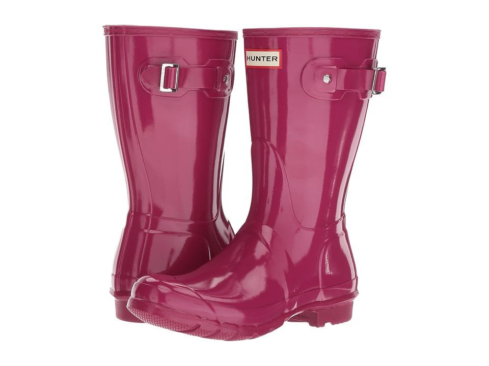 Hunter Original Short Gloss (Dark Ion Pink) Women