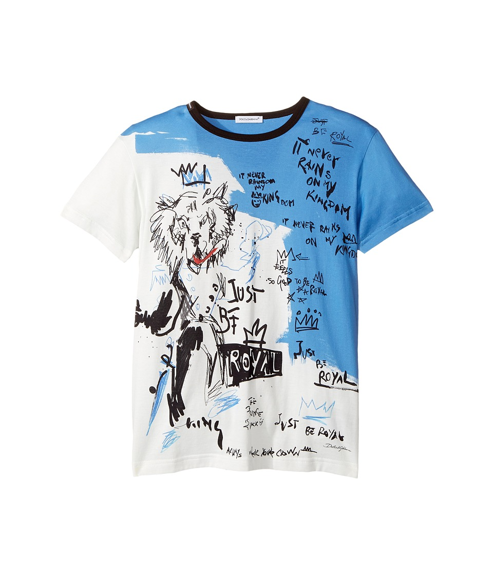 Dolce & Gabbana Kids - Just Be Royal T-Shirt