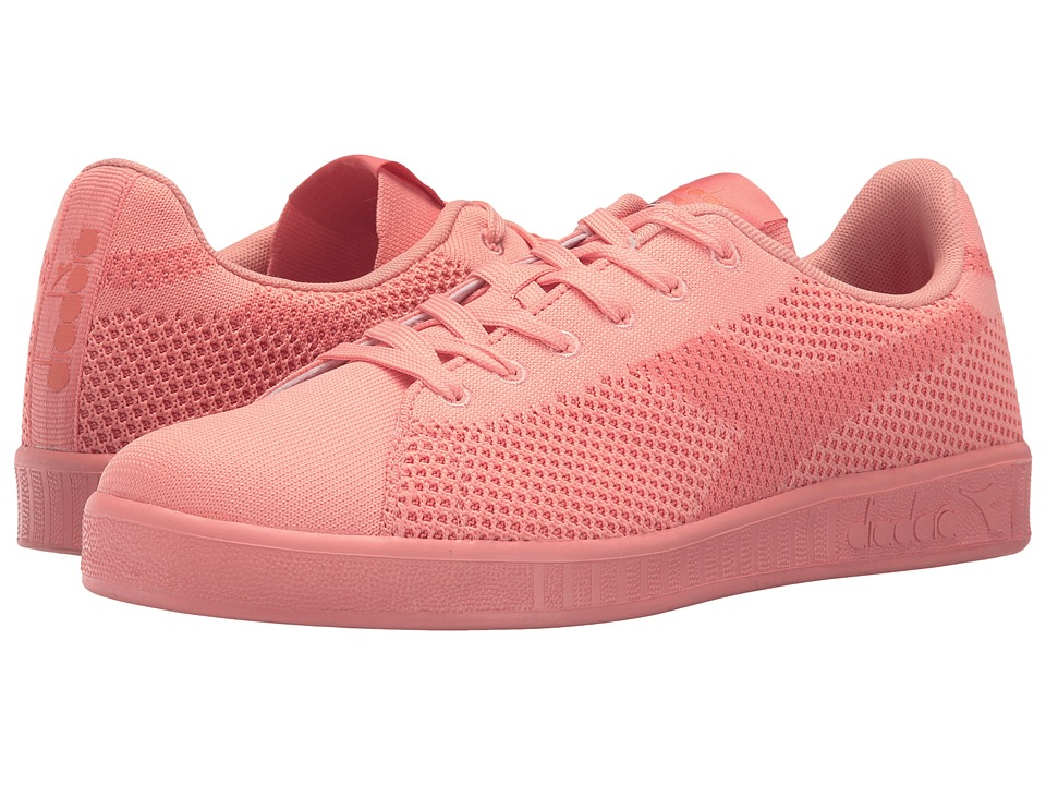 Diadora Game Weave (Peach Pink) Athletic Shoes