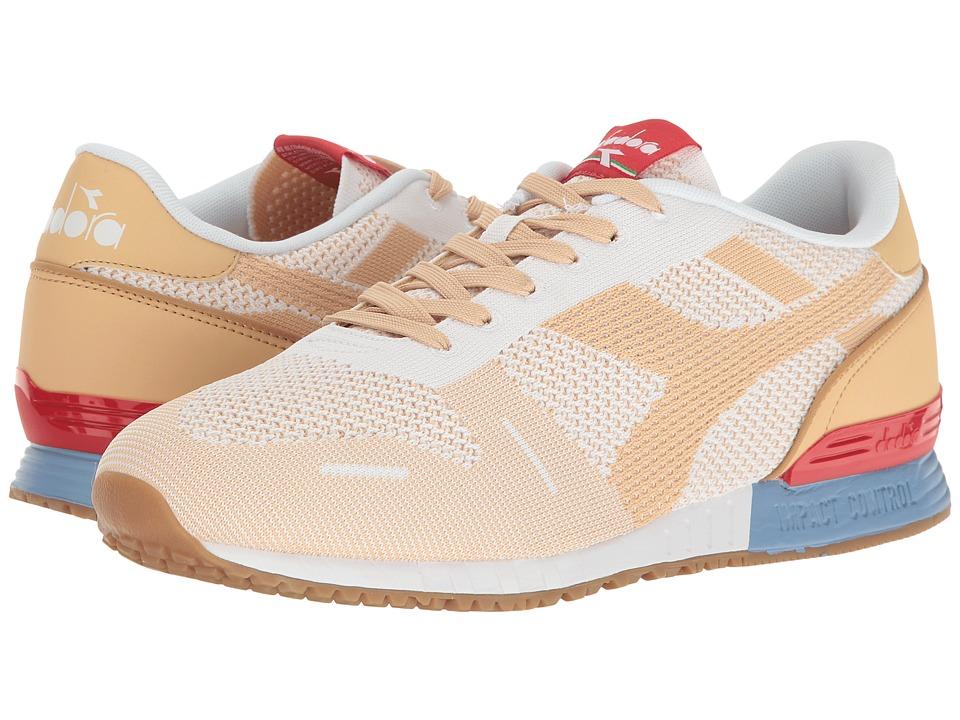 Diadora Titan Weave (White/Sheepskin) Athletic Shoes