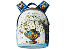 Dolce & Gabbana Kids - Floral Vase Backpack (Toddler/Little Kids/Big Kids)