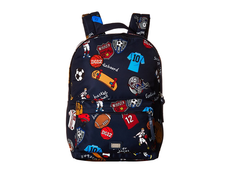Dolce & Gabbana Kids - Back to School Printed Nylon Backpack