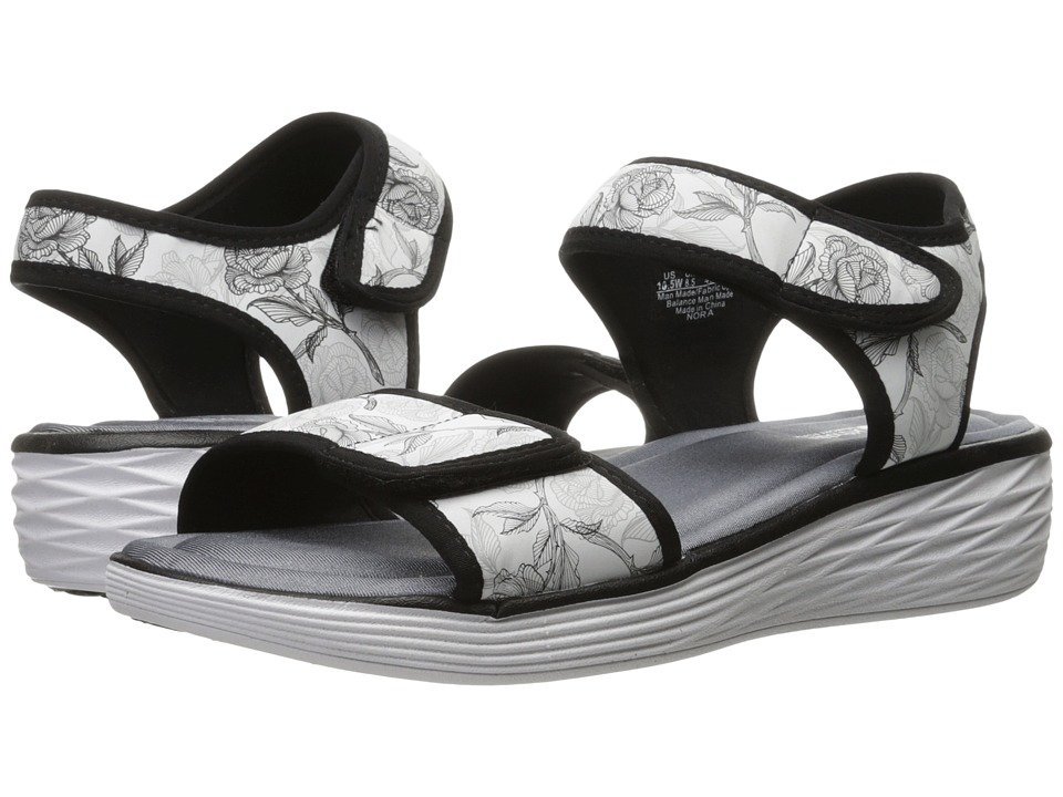Ryka Nora (White/Summer Grey/Black) Women