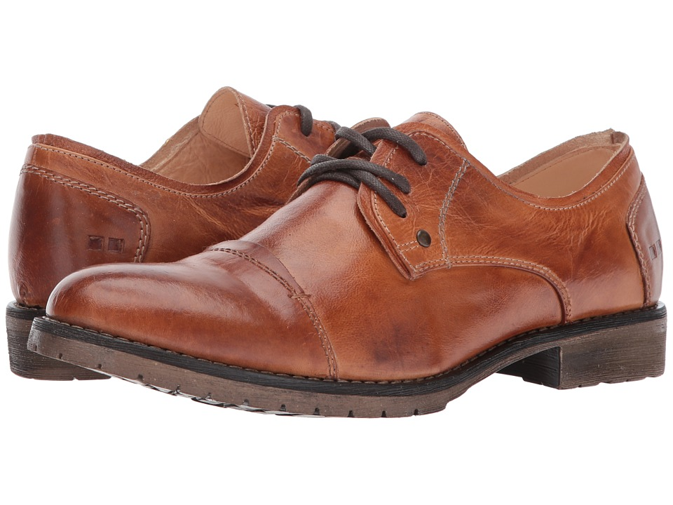 Bed Stu - Repeal (Cognac Rustic) Mens Lace Up Cap Toe Shoes