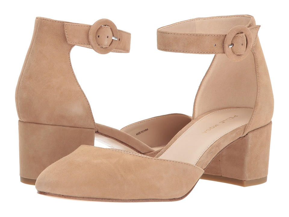 Pelle Moda Uma (Latte Suede) Women's Shoes