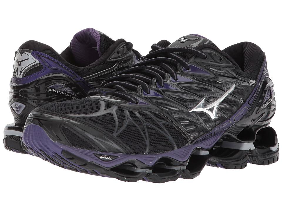 Mizuno Wave Prophecy 7 (Black/Silver) Women's Running Shoes