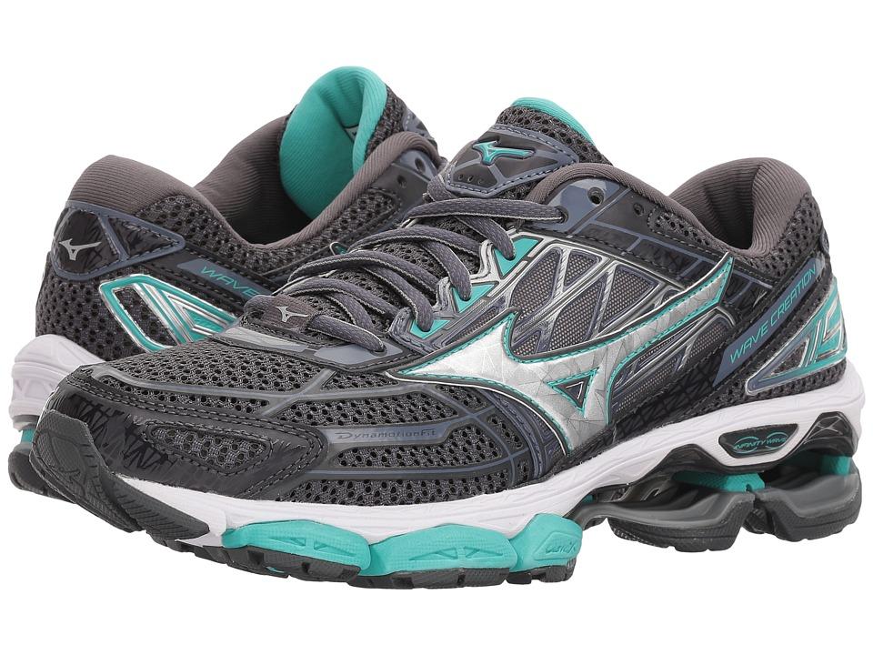Mizuno Wave Creation 19 (Magnet/Silver) Women's Running Shoes